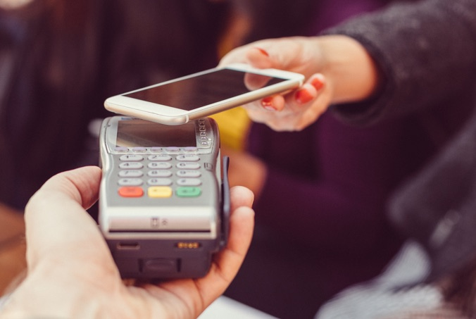 paying with apple pay enabled phone