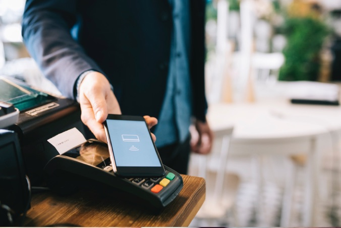 paying with samsung pay enabled phone