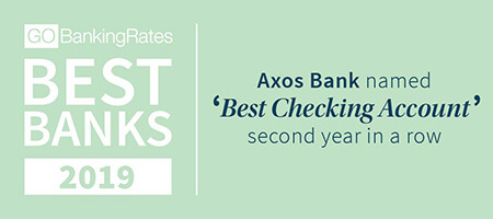 GoBankingRates Axos Bank 'Best Checking Account' award image