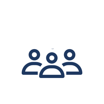 A graphic of a group of people