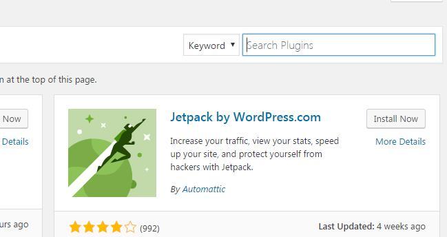 WordPress: Search Bar